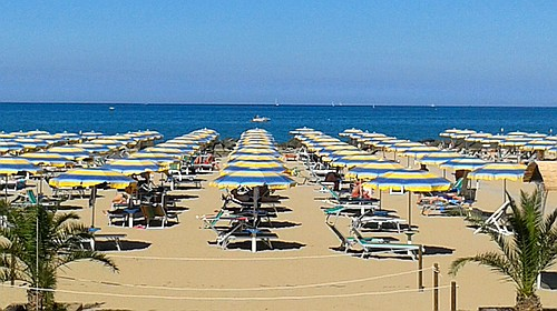 Beach of Rimini